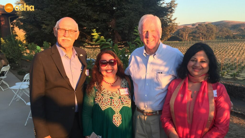 Dr Kiran with the Mayor of American Canyon and his wife and with Congressman Mike Thompson