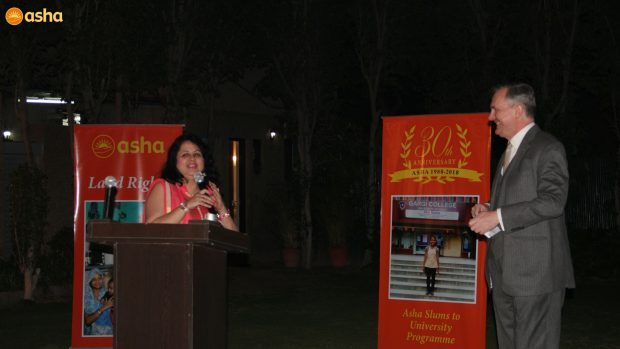 Celebrating Asha's 30th Anniversary with the Embassy of Ireland