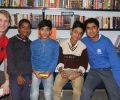 Team from Methodist College Belfast spreads joy in Asha's Kalkaji Community
