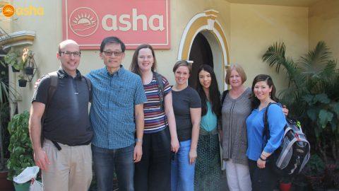 Team Reservoir's Asha Visit