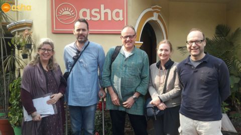 St Stephen's team visit to Asha's 30th year celebration