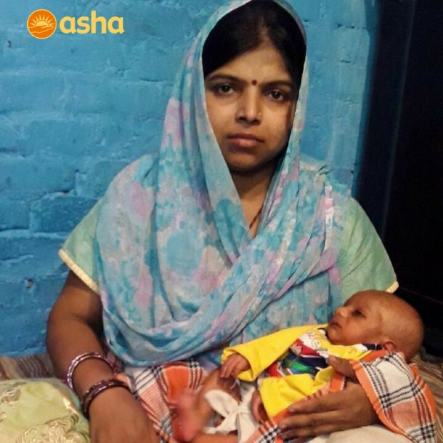 Asha's Antenatal Care brings happiness to a family