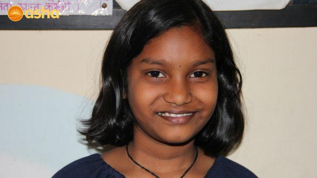 '' I love meeting volunteers from across the world''- Aishwarya from Kusumpur Pahari Community