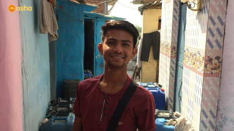 "''I was lucky to have found Asha at the right time"" – Asha student Ashok"