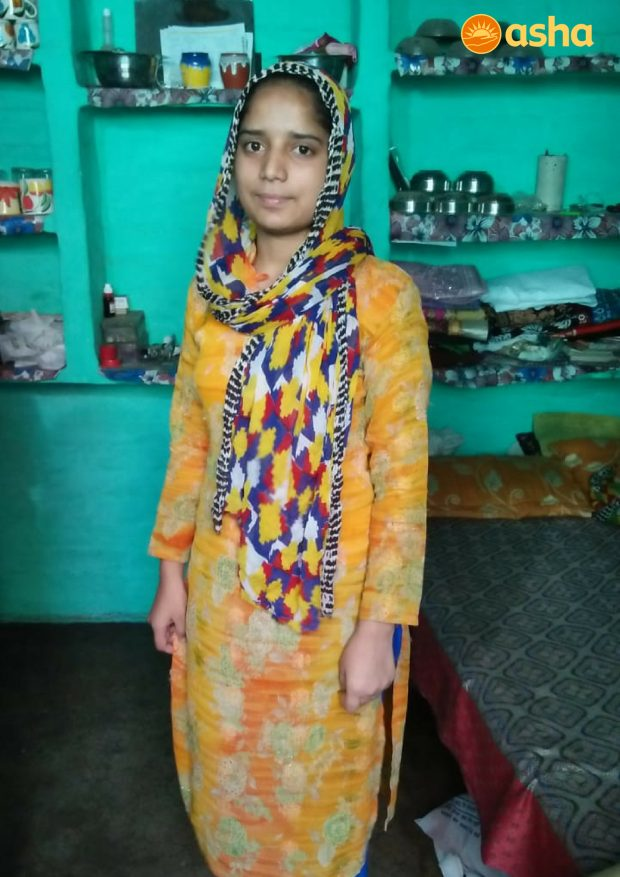 Against all odds, Iram shines bright in her High School Examination