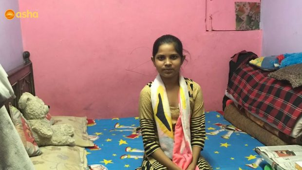 """""""Education became an integral part of our family after Asha's intervention""""- Mohini"""