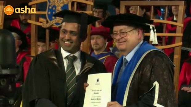 Breathtaking moment of glory: It's Mahinder's Graduation