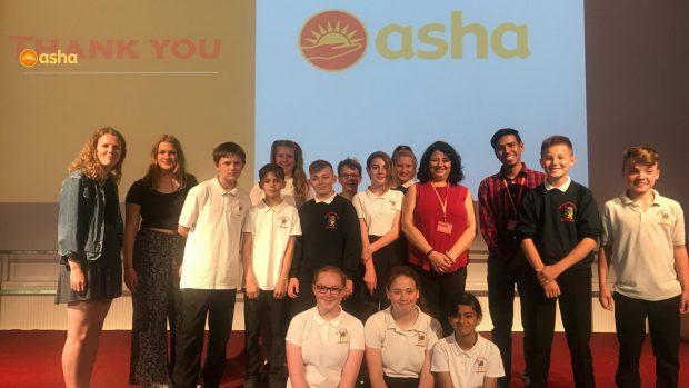 Dr Kiran visits schools in UK