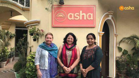 DCM of the Embassy of Finland, New Delhi visits Asha