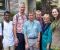 Christian Medical Fellowship team visits Asha