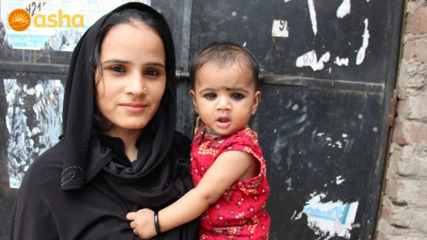 """Asha helped protect my child"": Sabiha (a TB patient)"