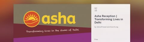 Asha (USA)- A Reception to Learn About the Work of Asha