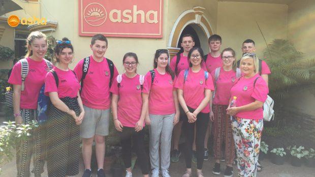 Dunclug college visits Asha
