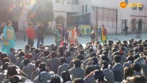 Tigri team at a govt. school