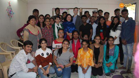 Dr. Kiran & Asha family bids adieu to Simon O' Connor