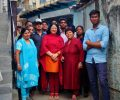 Dr Kiran Martin: spreading joy and optimism at Asha slum