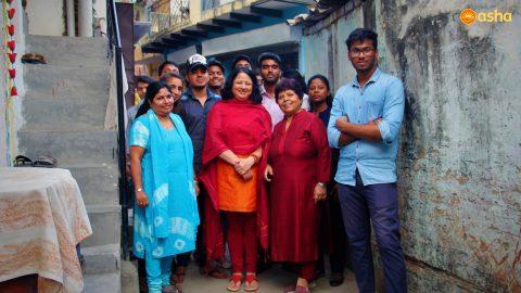 Dr Kiran Martin: spreading joy and optimism at Asha slum