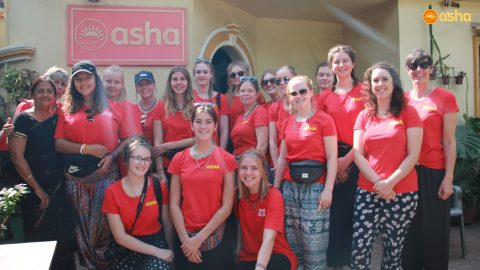 Schools from Sherborne pays an edutainment visit to Asha