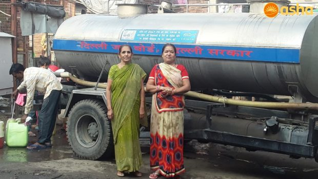 And Asha brought home the tanker to quench their thirst…
