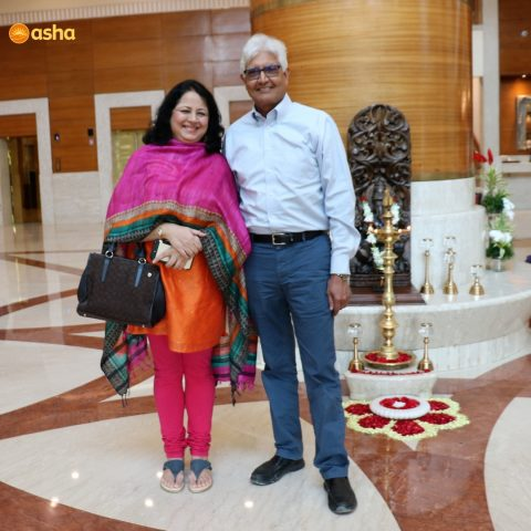 Dr Praveen Prasad, sharing smiles at Asha