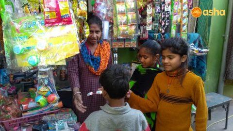 Strengthening the women entrepreneurship in Asha slums