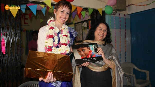 Dr Kiran and Asha family bids adieu to Suzannah