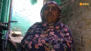 CHV Munni at her shanty