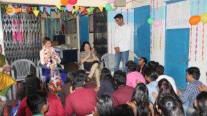 Chandan, an Asha ambassador sharing his journey
