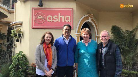 Rheumatologists from UK visit Asha