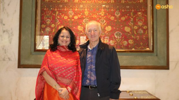 Chairman of Australian Friends of Asha for Slums (AFOA) visits Chanderpuri slum community