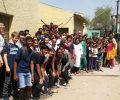 American Embassy School students visits Asha