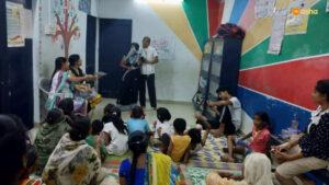 Mother's Day celebration at Asha's Anna Nagar slum community