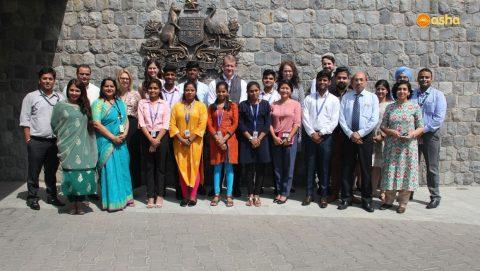 Asha Interns at Australian High Commission