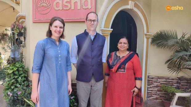 New Zealand's Deputy High Commissioner visits Asha