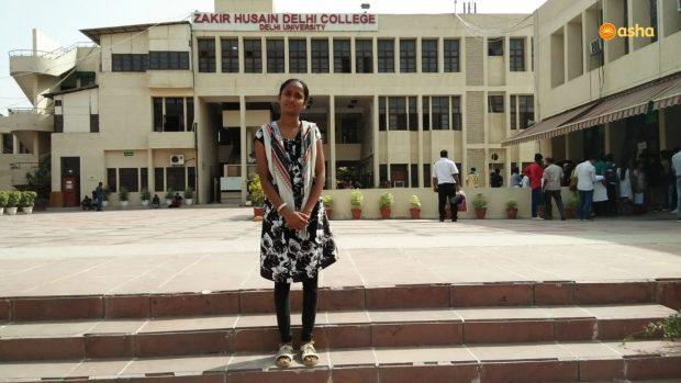Asha High School Topper Mehjabeen on her new journey