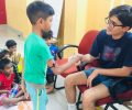 Aryan:  A young volunteer at Asha