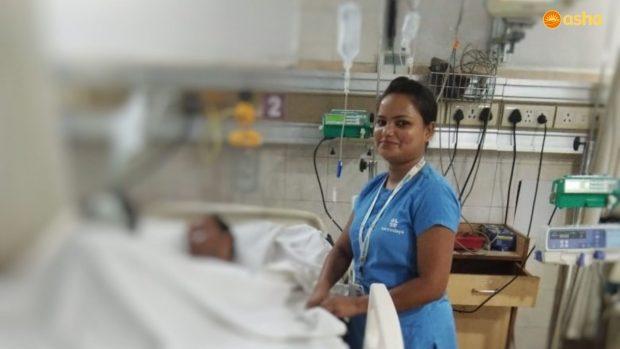 Pooja- Nursing her way to glory