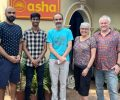 A team from The Australian National University visits Asha
