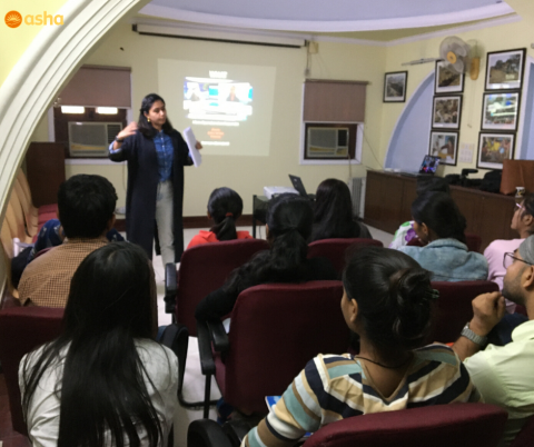 Workshop on Video Journalism held for Asha undergraduate students
