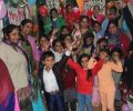 Christmas Celebrations at Asha slum centres