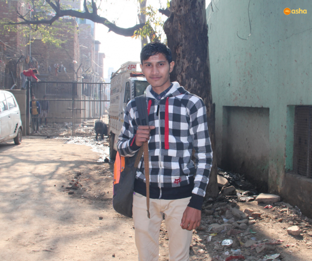 From Slum to Delhi University: Finding his purpose with college education