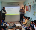 Workshop on Communication held at Asha's Kalkaji slum community