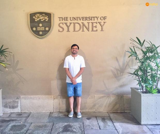 Asha's first beneficiary of the Sydney Scholars India Equity Scholarship