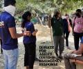 Coronavirus awareness in Asha slums