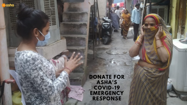 Coronavirus update in Asha slums