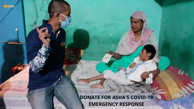 COVID-19 relief update from the Asha slum communities