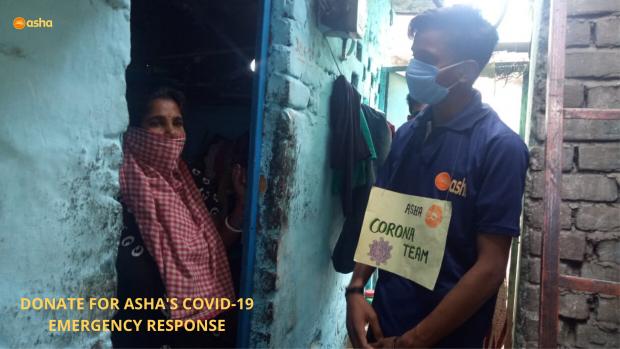 Asha warriors bring comfort and peace in slum homes