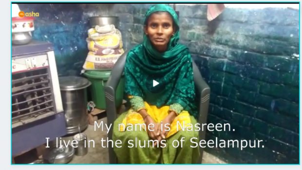 Asha provides financial aid to slum dwellers