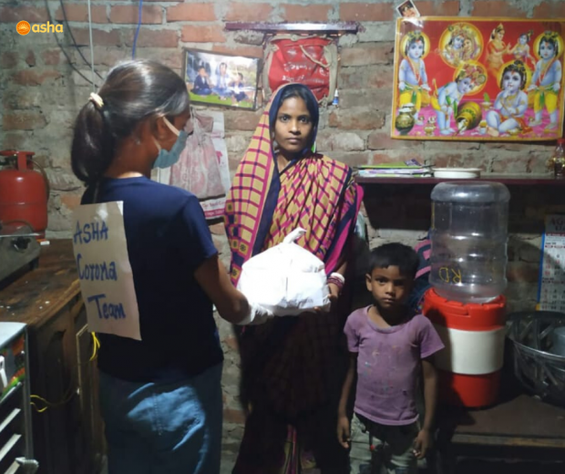 Asha Corona Warriors prompt actions saves a slum community