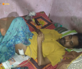Bedridden man receives aid from Asha